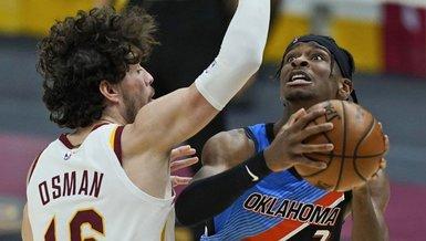 Cleveland Cavaliers-Oklahoma City Thunder: 101-117 (MAÇ SONUCU-ÖZET)