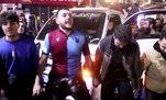 Trabzonspor taraftarları galibiyeti horon teperek kutladı