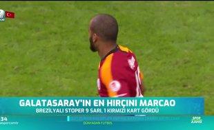 Galatasaray'ın en hırçını Marcao