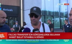 Ahmet Bulut'tan Falcao açıklaması: Şu anda olumsuz bir durum yok