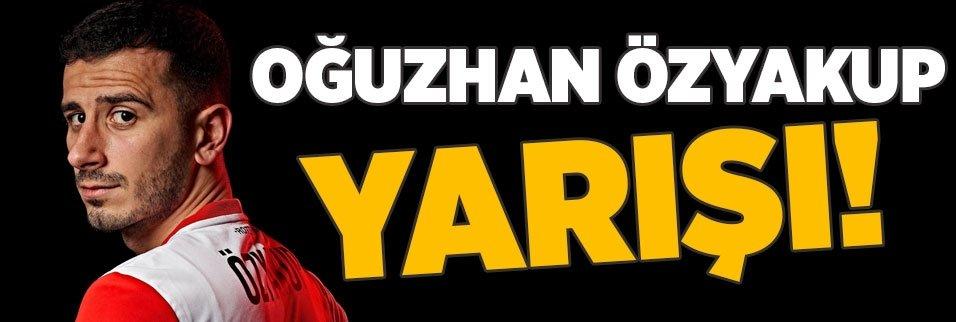 Oğuzhan Özyakup yarışı! Beşiktaş ve Feyenoord...