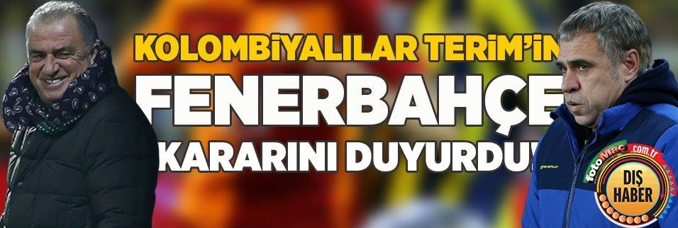 Kolombiyalılar Fatih Terim'in Fenerbahçe kararını duyurdu!