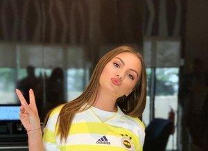 Alexandra Stan, Fenerbahçe'ye destek verdi!
