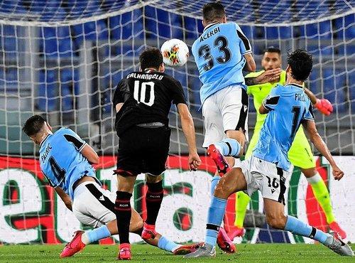 lazio 0 3 milan mac sonucu 1593899518770 - Lazio 0-3 Milan   MAÇ SONUCU