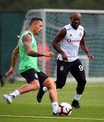 Beşiktaş lig hazırlıklarını sürdürdü