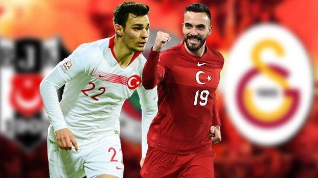 Beşiktaş Fenerbahçe ve Galatasaray devrede! Kaan Ayhan ile Kenan Karaman... #