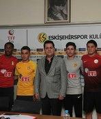 Eskişehirspor'dan imza şov!
