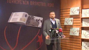 'Türkiye'nin Basketbol Aşkı' kitabı tanıtıldı
