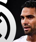 Günün transfer bombası... Falcao Real Madrid'le görüştü!