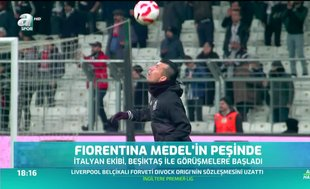 Fiorentina Medel'in peşinde