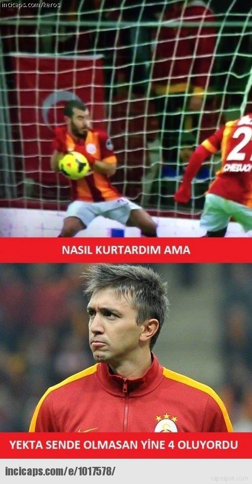 Galatasaray - Trabzonspor maçı caps'leri