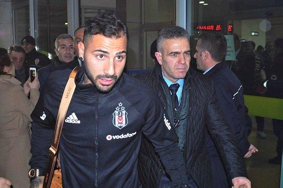 Beşiktaş'a Konya'da coşkulu karşılama!