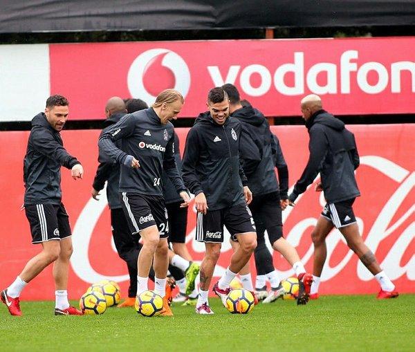 Beşiktaş, hazırlıklarına başladı