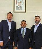 TBF Başkanı Türkoğlu'ndan Hamza Yerlikaya'ya ziyaret