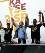Kayserispor'dan yeni transferler için tören
