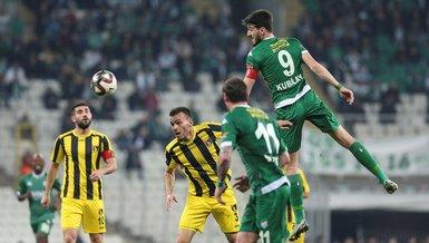 Bursaspor 1-1 İstanbulspor | MAÇ SONUCU