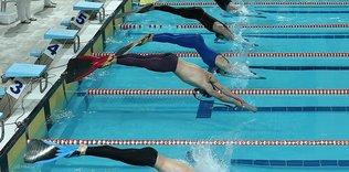 Paletli yüzmede rekor katılım