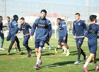 Medipol Başakşehir Erzurumspor maçının hazırlıklarına başladı