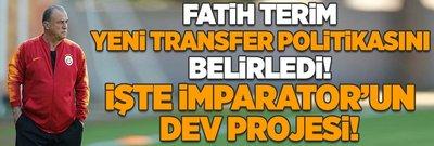 Terim yeni transfer politikasını belirledi: İşte dev proje!