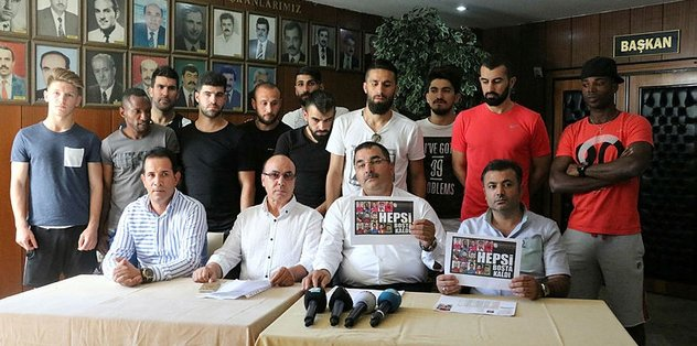 18 futbolcu Gaziantepspor'un elinde kaldı