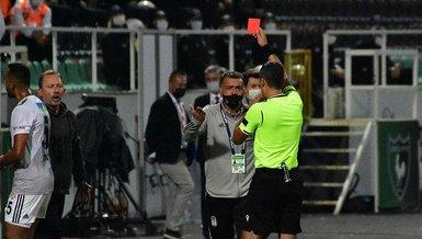 Son dakika Beşiktaş haberi: İşte Josef de Souza'nın kırmızı kart gördüğü pozisyon