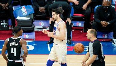 NBA'de Furkan Korkmaz'lı Philadelphia, Clippers'ı devirdi!