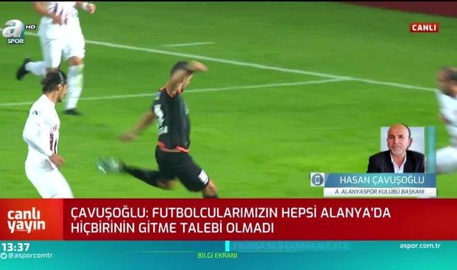 Alanyaspor Başkanı Hasan Çavuşoğlu'ndan play-off değerlendirmesi
