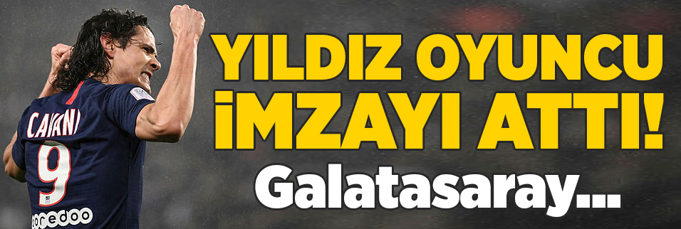 edinson cavani imzayi atti galatasaray 1596955186747 - Arda'nın Galatasaray transferi İspanya'da yankı buldu! Barcelona...