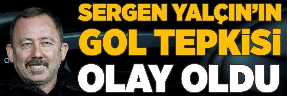 sergen yalcinin gole verdigi tepki olay oldu 1592683653057 - Sergen Yalçın: Küçülme yok şampiyonluk istiyoruz