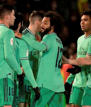 MAÇ SONUCU Unionistas 1-3 Real Madrid