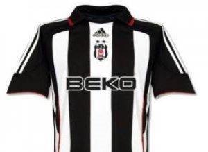 Beşiktaş'ın Giymiş Olduğu Formalar