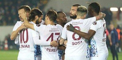 Trabzonspor deplasmanda bir başka