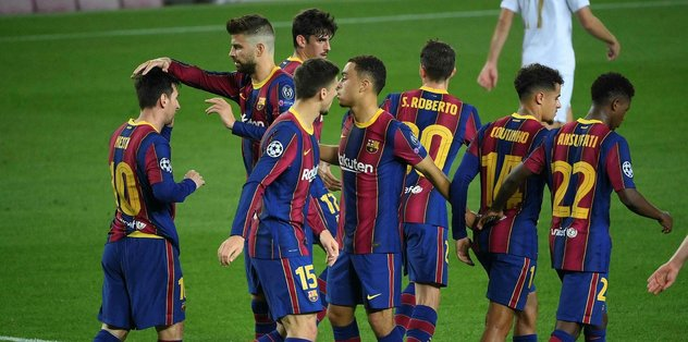 Barcelona 5-1 Ferencvaroş   MAÇ SONUCU - Son dakika UEFA ...