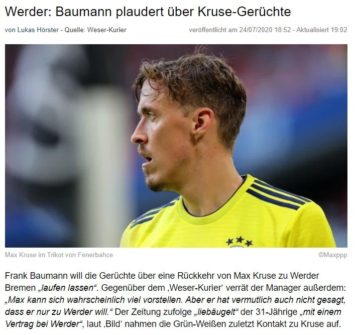 max kruse icin transfer aciklamasi werder bremen 1595678092801 - Max Kruse için transfer açıklaması! Werder Bremen...