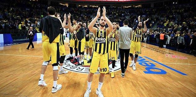 THY Avrupa Ligi'nde lider Fenerbahçe