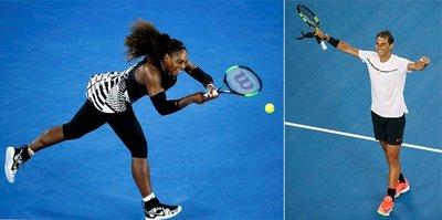 Serena Williams ve Nadal 3. turda