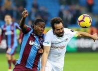 Trabzonspor - Konyaspor maçından kareler