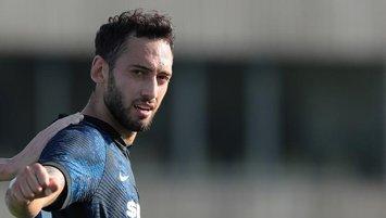 Hakan Çalhanoğlu Inter'deki ilk golünü attı | İZLEYİN