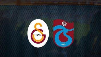 G.Saray U19 - Trabzonspor   İlk 11'ler belli oldu