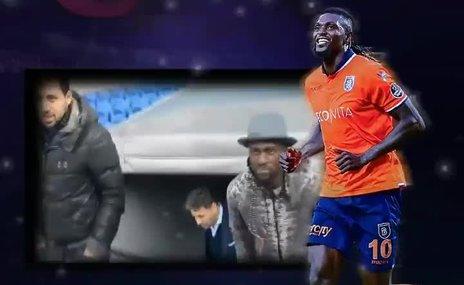 Başakşehir yıldız futbolcuya veda etti