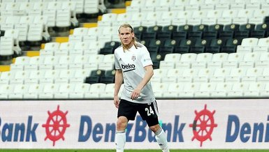 Besiktas defender Vida eclipse century mark in Super Lig appearances