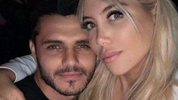 Mauro Icardi ve Wanda Nara çifti barıştı!