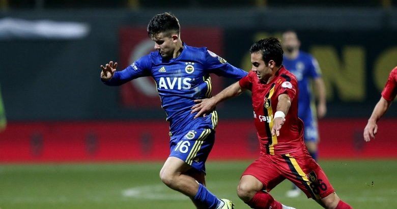 İşte İstanbulspor-Fenerbahçe maçından kareler