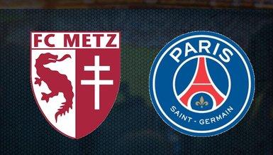 Metz Paris Saint Germain (PSG) maçı ne zaman saat kaçta hangi kanalda canlı yayınlanacak?