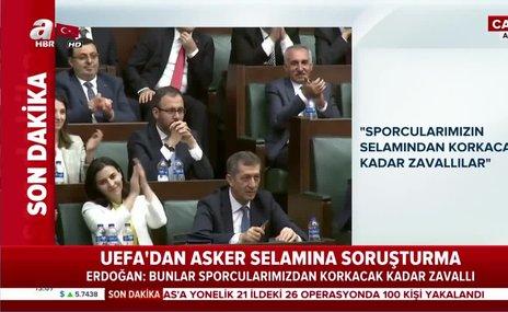 Başkan Erdoğan: Bunlar sporcularımızın selamından korkacak kadar zavallılar