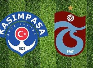 Trabzonspor perdeyi açıyor! İşte Kasımpaşa 11'i