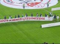 Fenerbahçe ve Bursaspor'dan Filistin'e dev destek