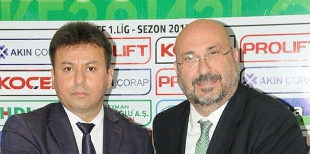 SGK'dan Giresunspor'a 'borçsuzluk' plaketi