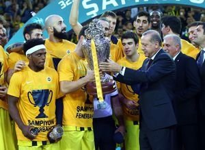 Cumhurbaşkanlığı Kupası Fenerbahçenin