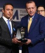 Cumhurbaşkanı Erdoğan'dan Ali Koç açıklaması